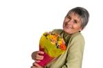 flowers, seniors, elderly,