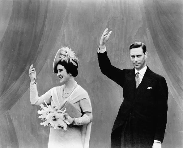 King George Vl & Queen Elizabeth in 1939