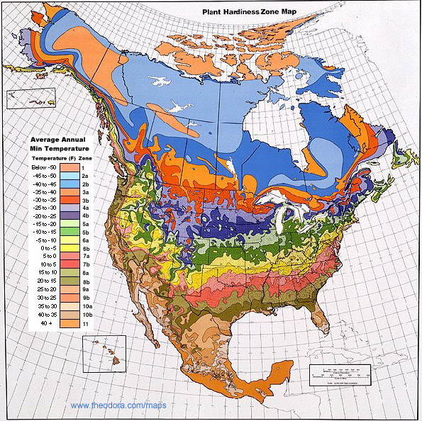USA Climate Zone Map