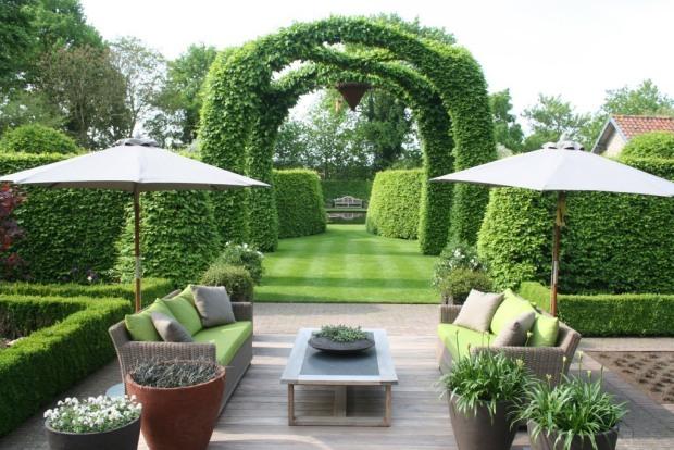 Belgium garden
