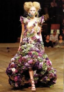 Alexander McQueen Dress, haute couture