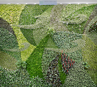 EIA Living Wall - Front View