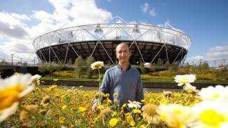 Wild Flower Meadows at Olympic Park - London 2012