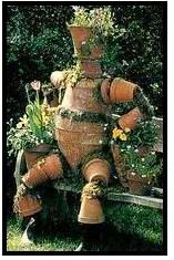 Pot Man Planter