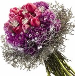 Bouquet with gems