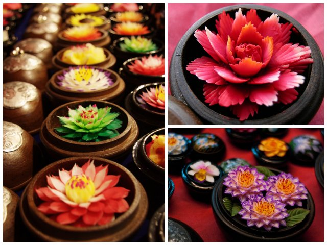 Hand Carved Soaps from Thailand
