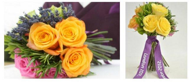 london 2012 ceremonial flowers