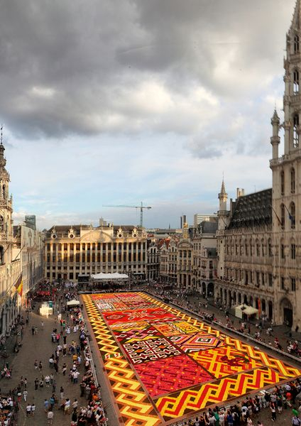 2012 Brussels flower carpet