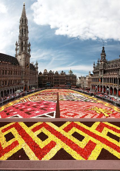 2012 Brussels Flowre Carpet