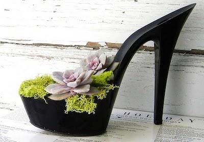 high heels planter