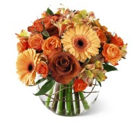 Grower Direct Fresh Cut flowers, Fall Splendor Bouquet