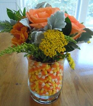 Home Decor Ideas Halloween Flowers
