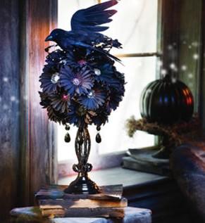 halloween floral ball
