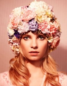 flower headpiece, flower crown