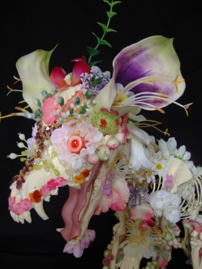 flower skeleton by Cedric Laquieze