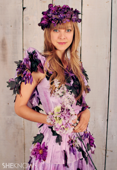 Fun And Creative Halloween Costume Ideas With Flowers