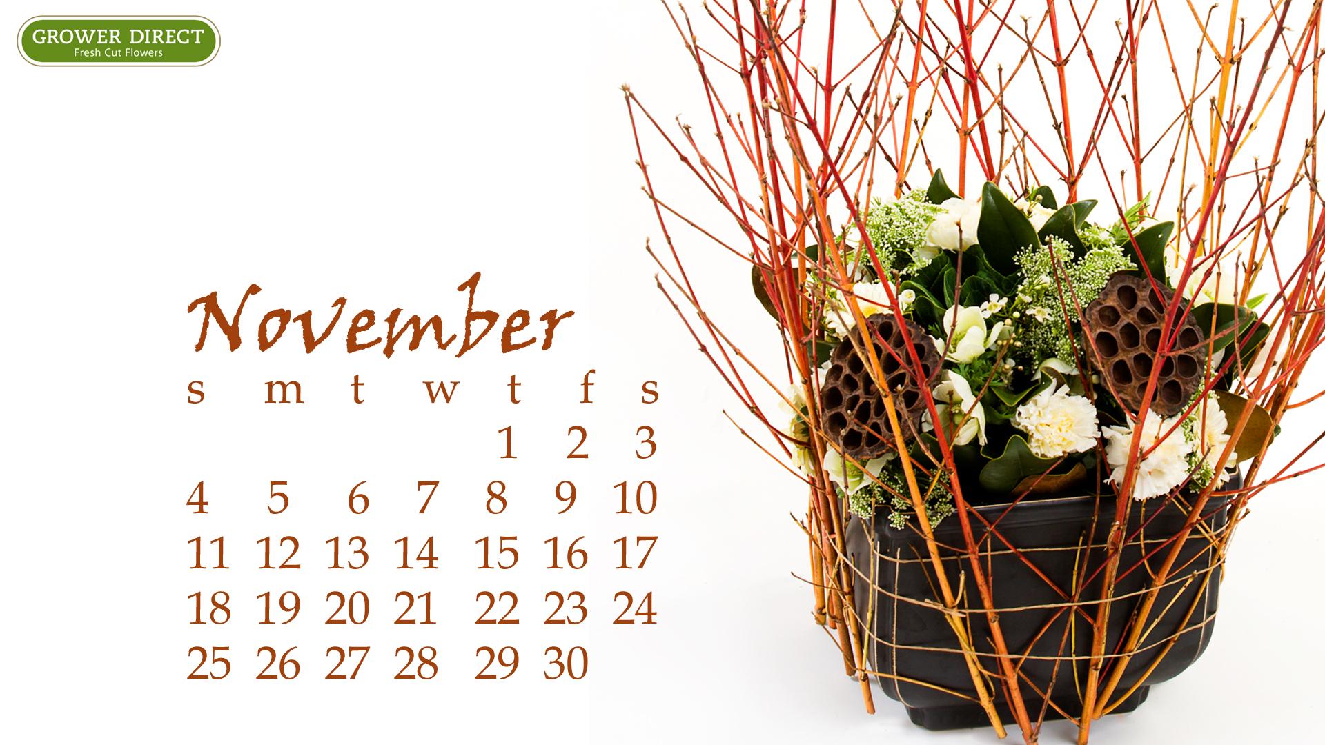freebie friday  free hd november 2012 desktop calendar wallpapers