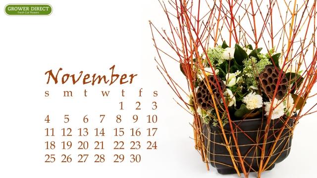 november 2012 calendar desktop wallpaper