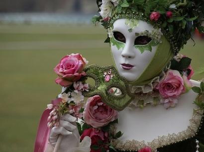 venetian flower costume