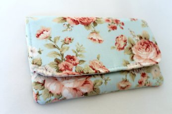 floral clutch from etsy
