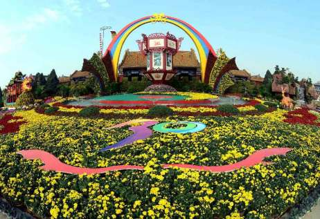 kaifeng chrysanthemum festival, china
