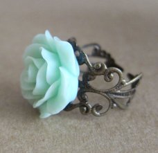 jewellery, rose ring from Etsy