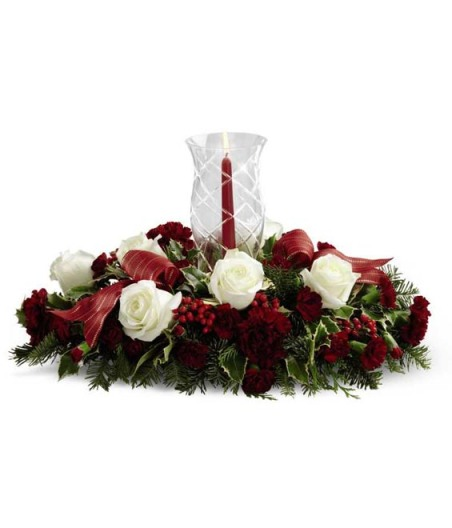 Holiday Dreams Centerpiece from Grower Direct