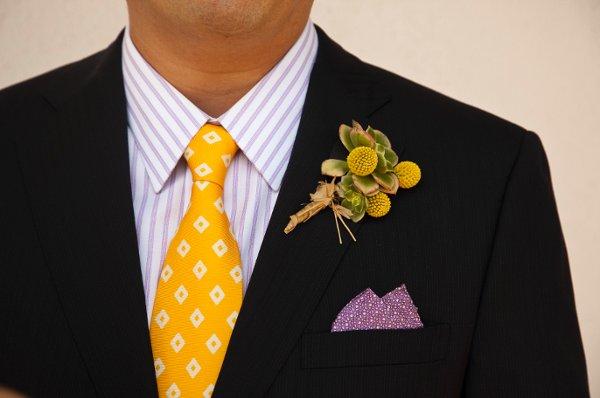 billy ball wedding boutonneire