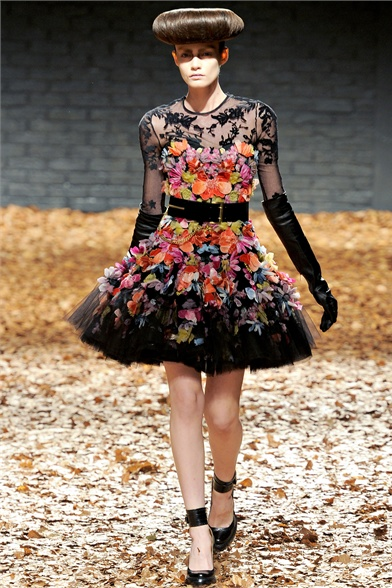 winter 2013 fashion trends: florals