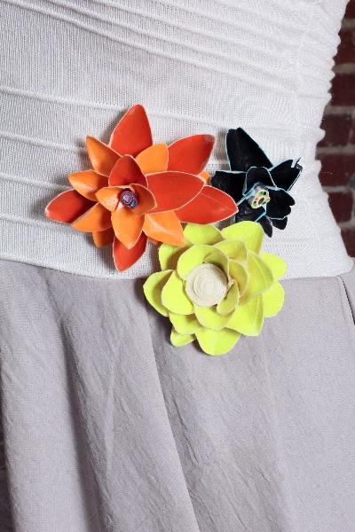 Tapigami-masking tape flowers