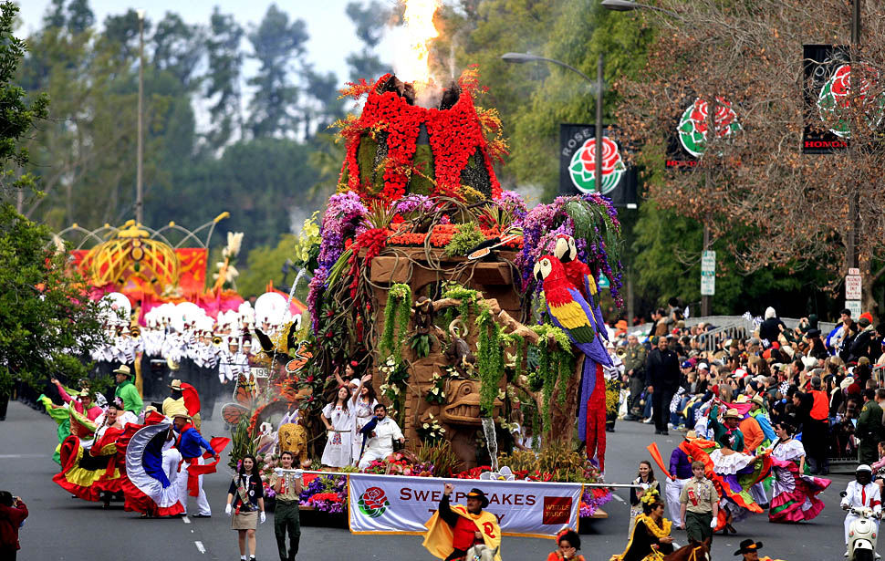Cool Places to See Flowers: The Rose Parade | Grower ...