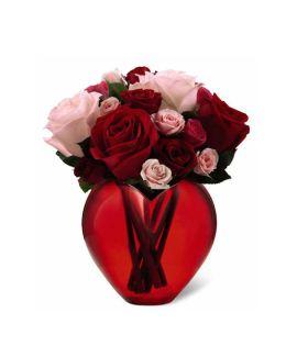 Valentine's Day Flowers- Perfect Love Arrangement from GrowerDirect.com