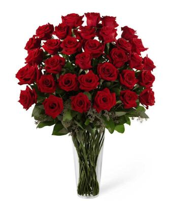 The Traditional Rose Bouquet- 36 Roses from GrowerDirect.com