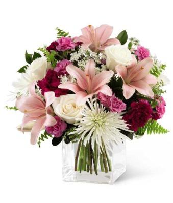 The Pretty Pinks Bouquet GrowerDirect.com