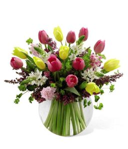 Spring floral arrangement from Grower Direct Fresh Cut Flowers- Spring Bounty Bouquet