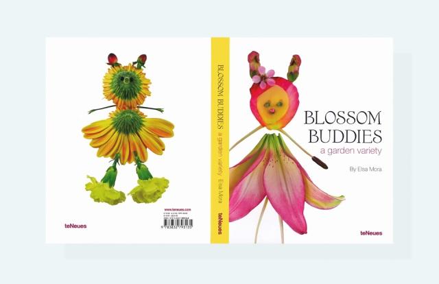 Blossom Buddies book cover art by Elsa mora