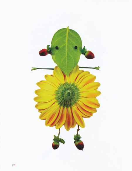 floral art by Elsa Mora