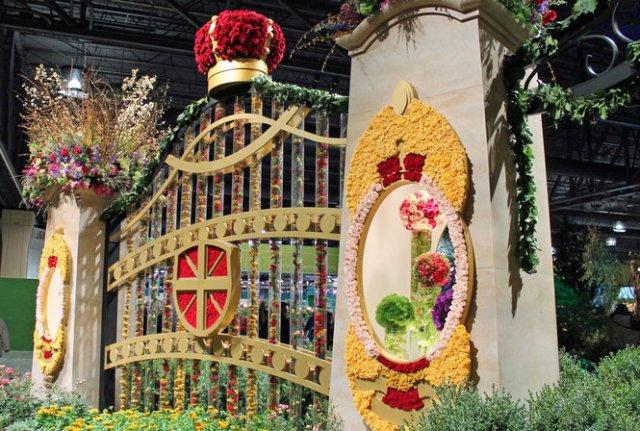 2013 Philadelphia Flower Show- Royal Gates