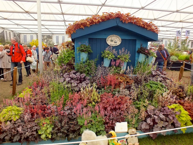 exhibit at the 2013 RHS Chelsea Flower Show