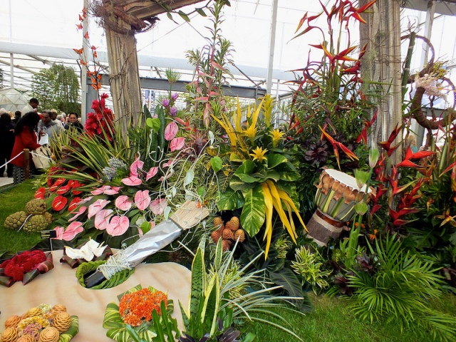 Trinidad and Tobago Flower Garden at the 2013 Chelsea Flower Show