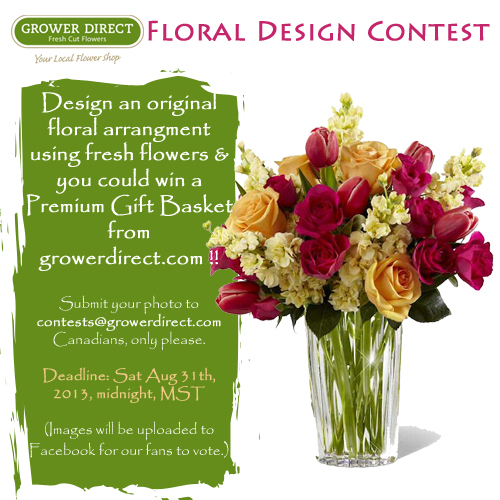Floral Design Contest from GrowerDirect.com