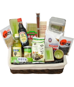 Sushi Lovers Maki Maki Gift Basket from Grower Direct Fresh Cut Flowers