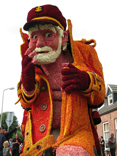 2013 Parade float Zundert Bloemencorso Flower Parade