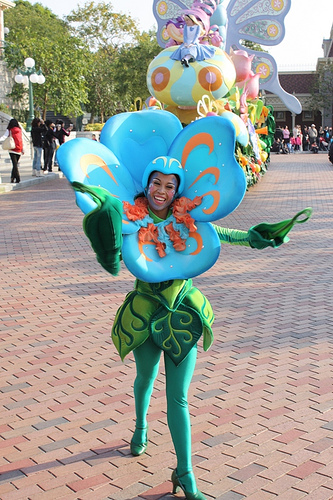 Halloween Flower costume