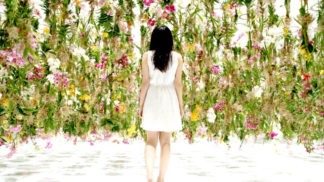 Floating Flower Garden by teamLab - Tokyo